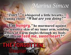 The Forgotten, Demons, Book 2