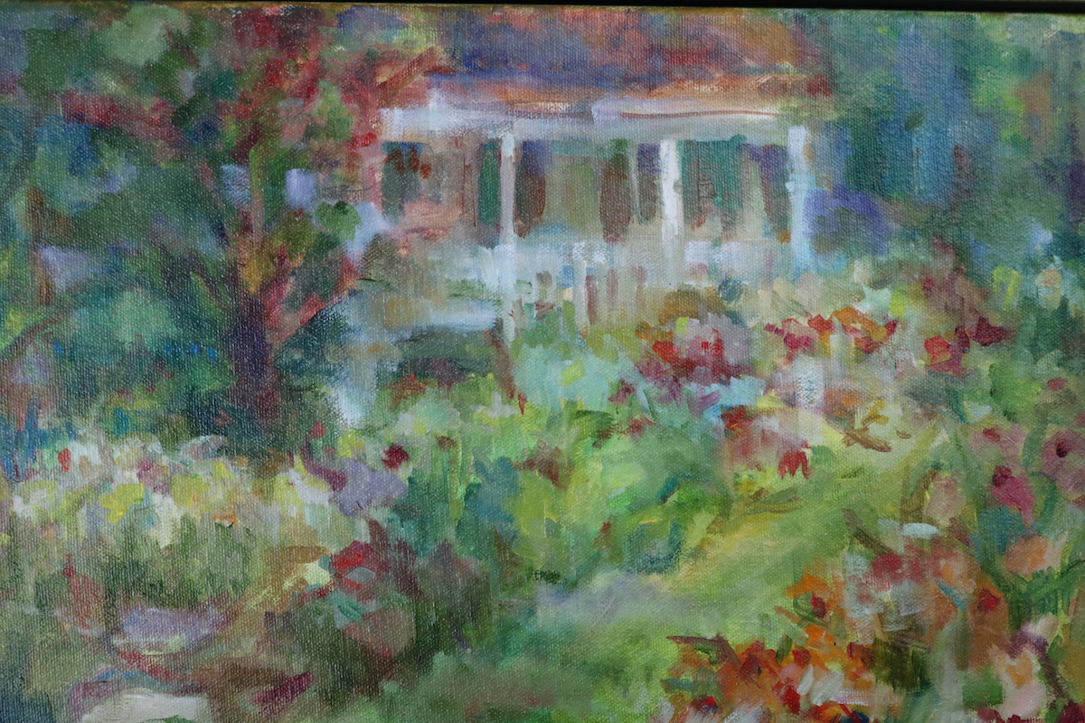 Mc Laughlin, Come Sit on the Porch,oil on canvas, 12