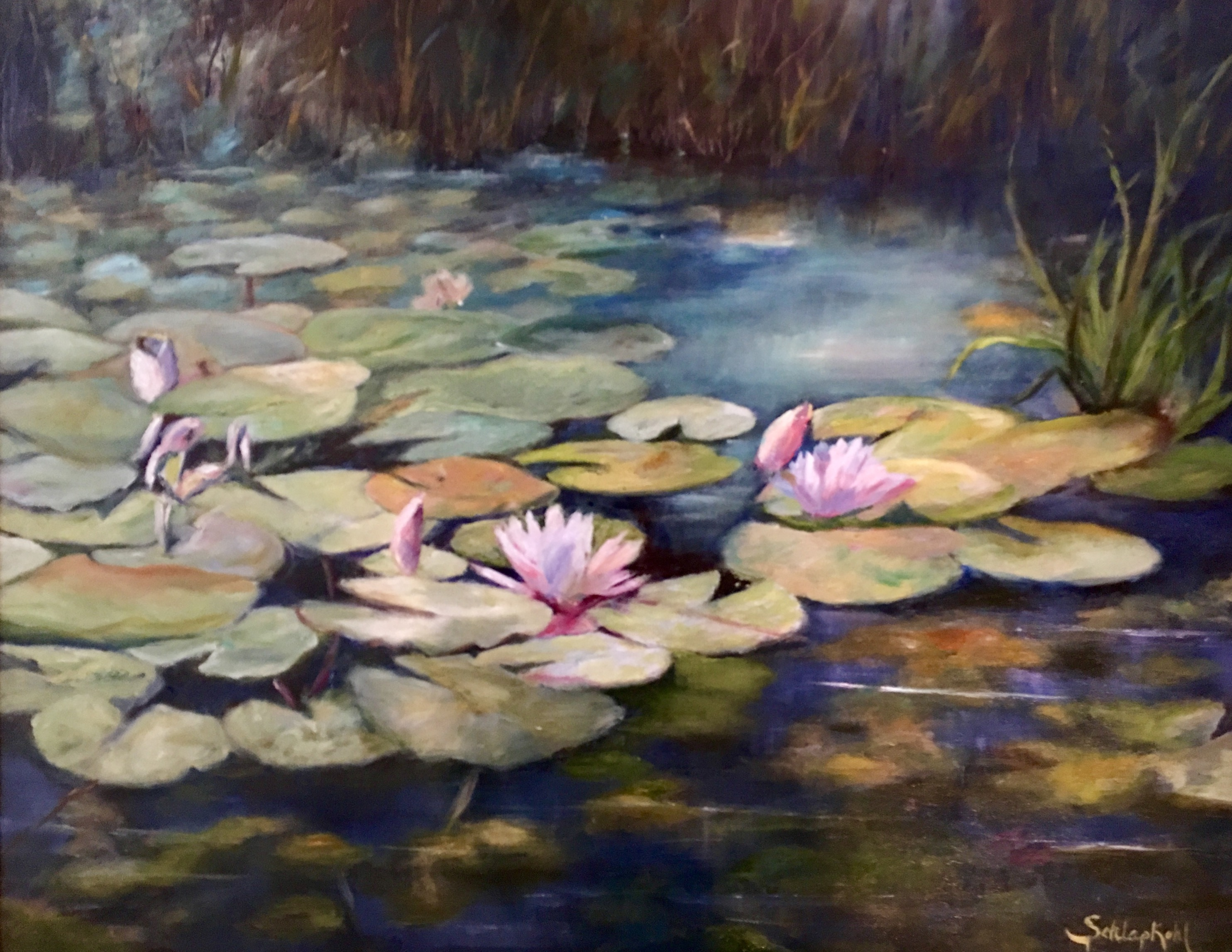 Schlapkohl-Monet Waterlily Inspiration