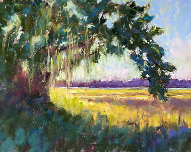 Susan Voorhees, Hot Day on the Marsh, pa