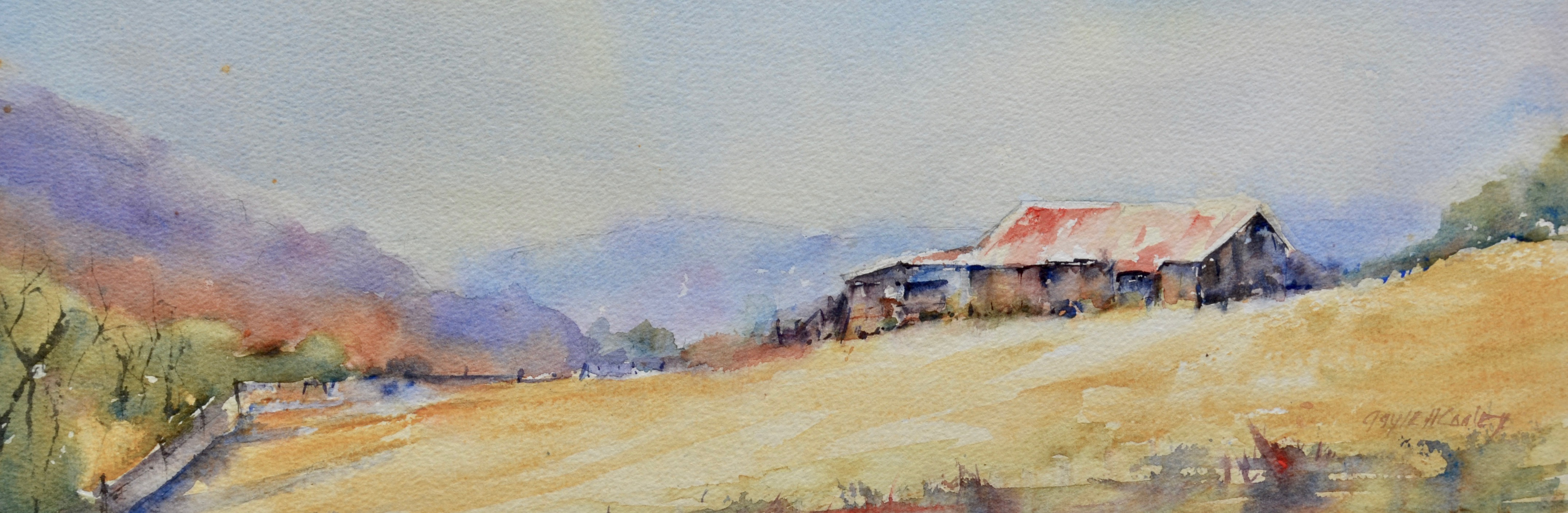 Havens-Fall Barn, Blue Ridge Parkway