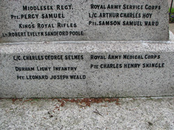 St Mary's Church Churchgate Street Harlow Memorial WWI 011.jpg