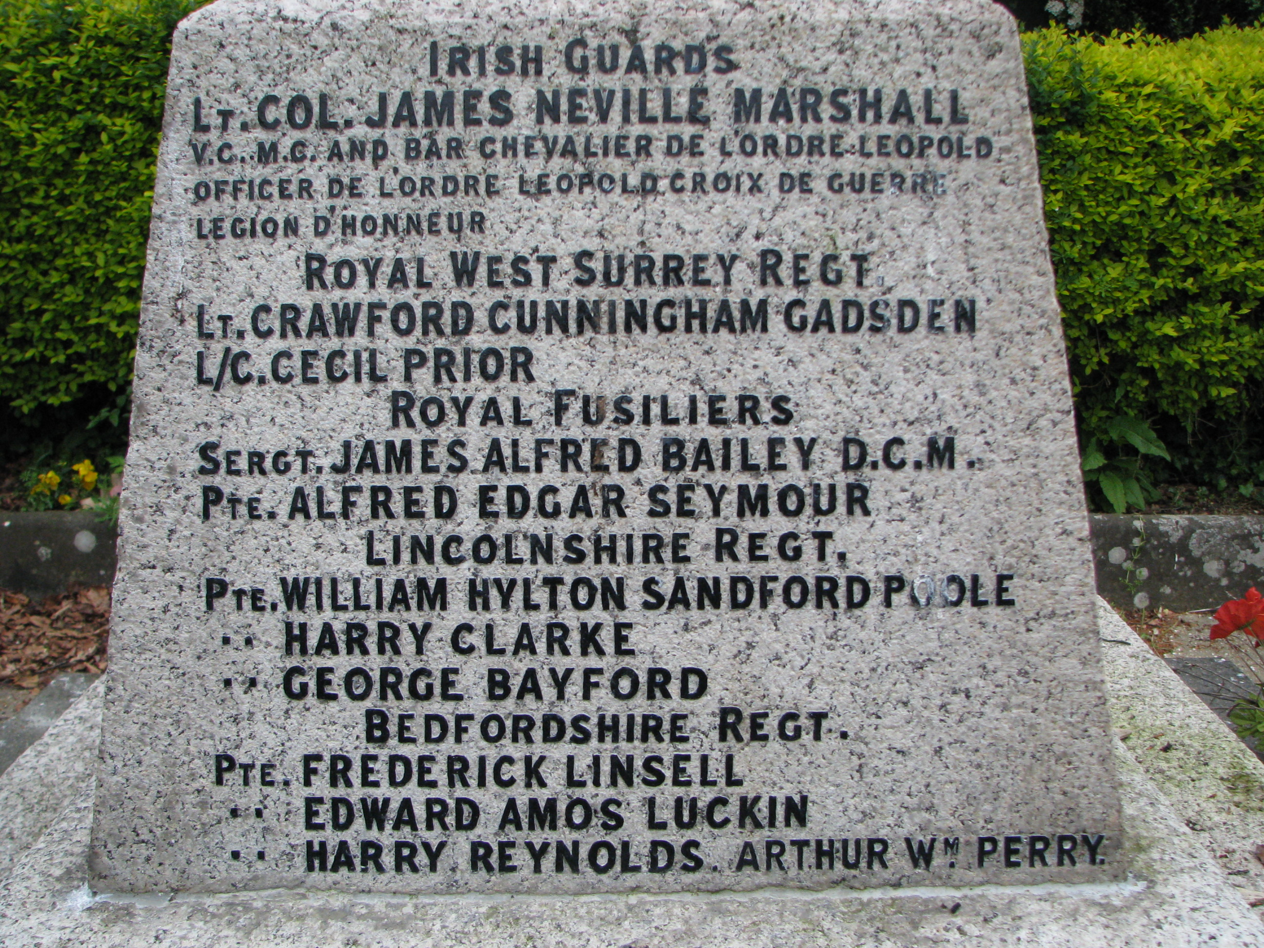 St Mary's Church Churchgate Street Harlow Memorial WWI 013.jpg