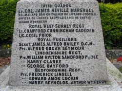 St Mary's Church Churchgate Street Harlow Memorial WWI 013.jpg