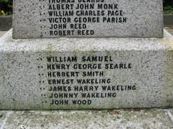 St Mary's Church Churchgate Street Harlow Memorial WWI 008.jpg