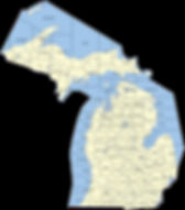 Michigan-City-And-County-Map-With-Map-Mi