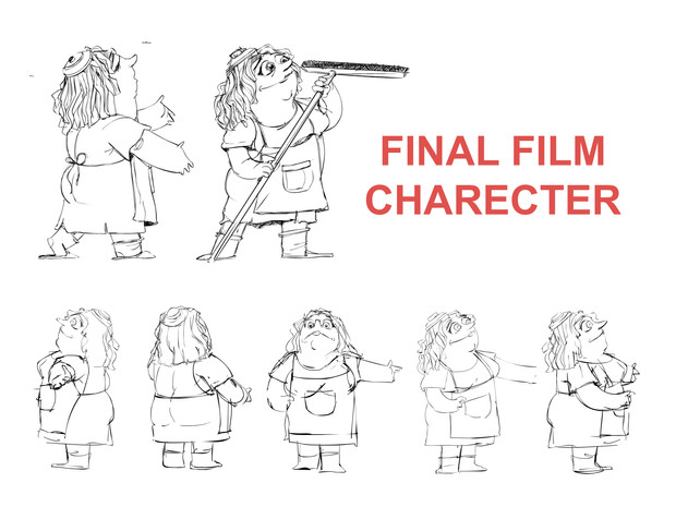 Character Design and Storyboard