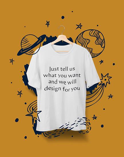 T-shirt | Customized