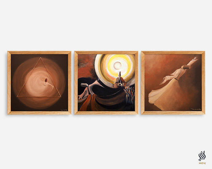 Paintings Set of 3 | صوفيات