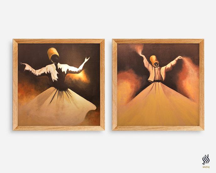 Paintings Set of 2 | صوفيات