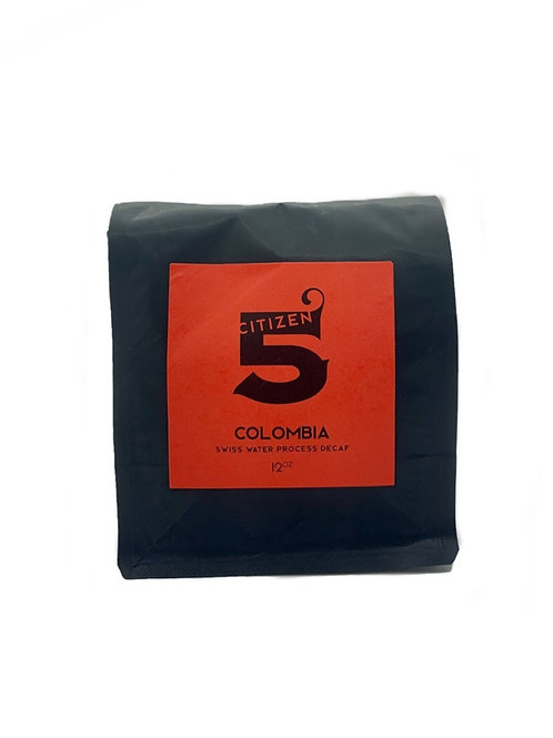 Colombia: Swiss Process Decaf