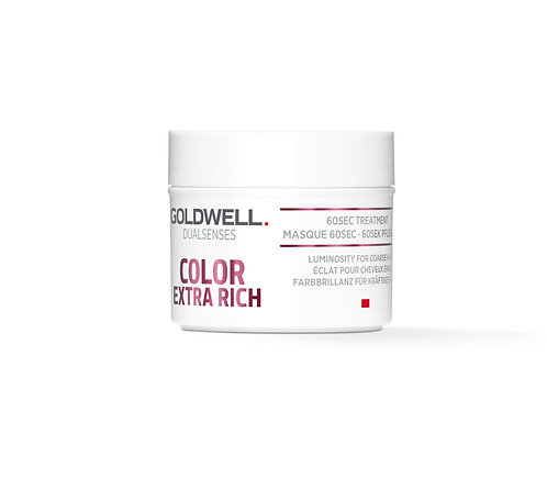 Goldwell Dualsenses Colour Extra Rich 60 second treatement