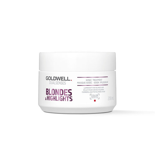 Goldwell Dualsenses Blondes & Highlights 60 Second Treatment 200ml