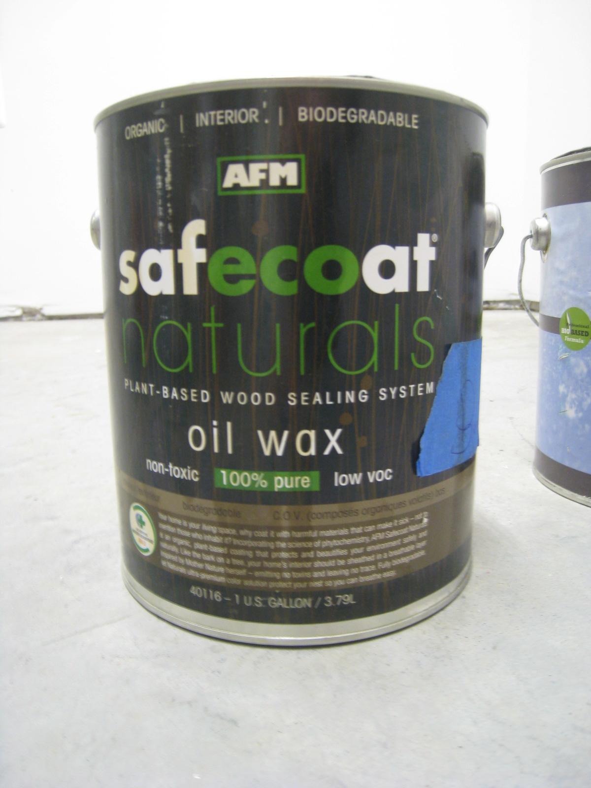 SafeCoat Oil Wax