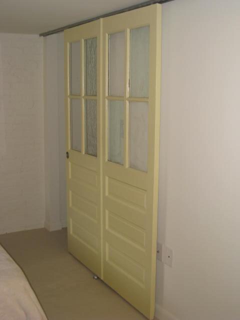 A snazzy closet door