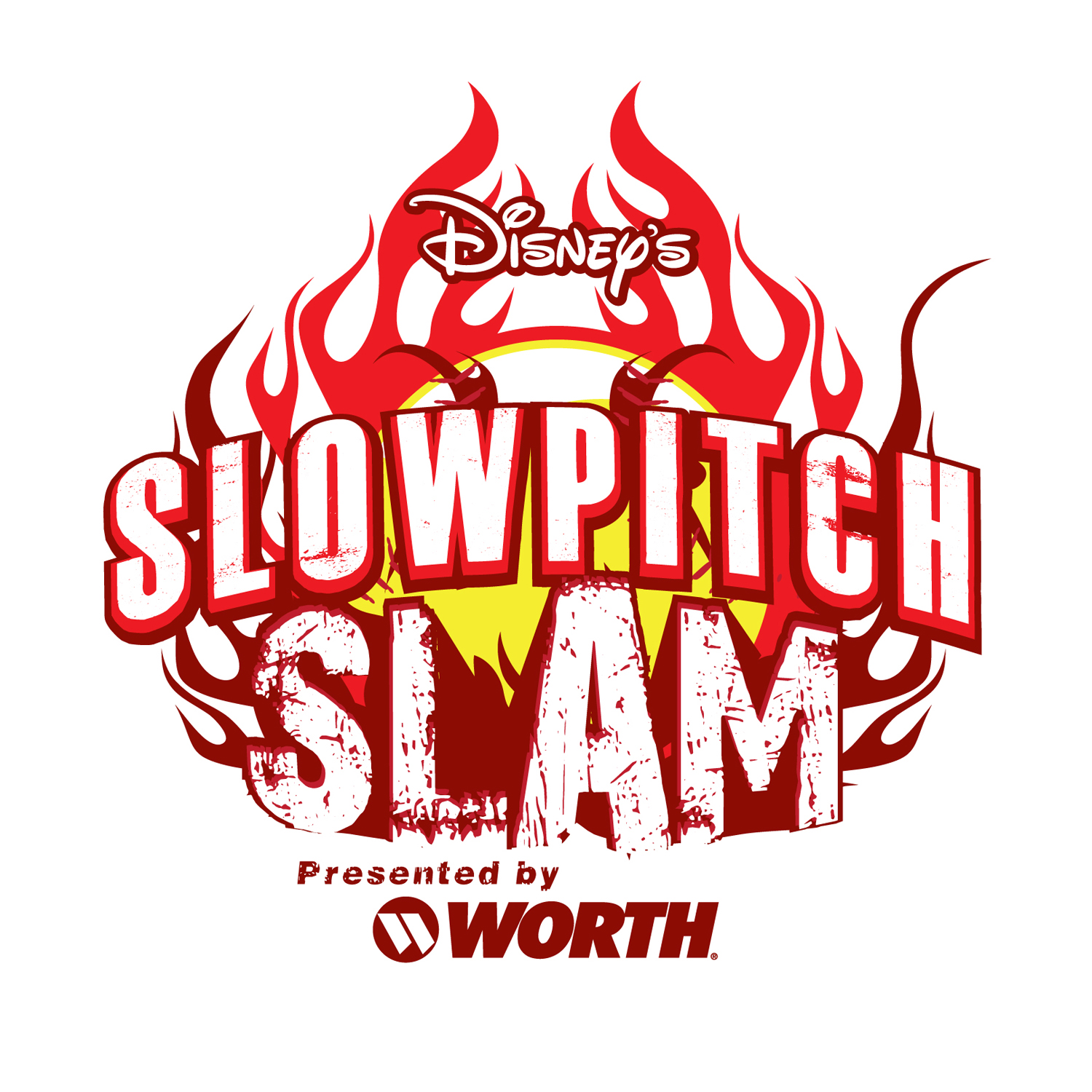 Disney Slowpitch Slam logo4