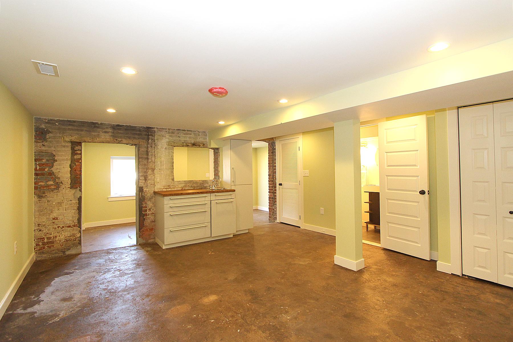 We reuse concrete floors