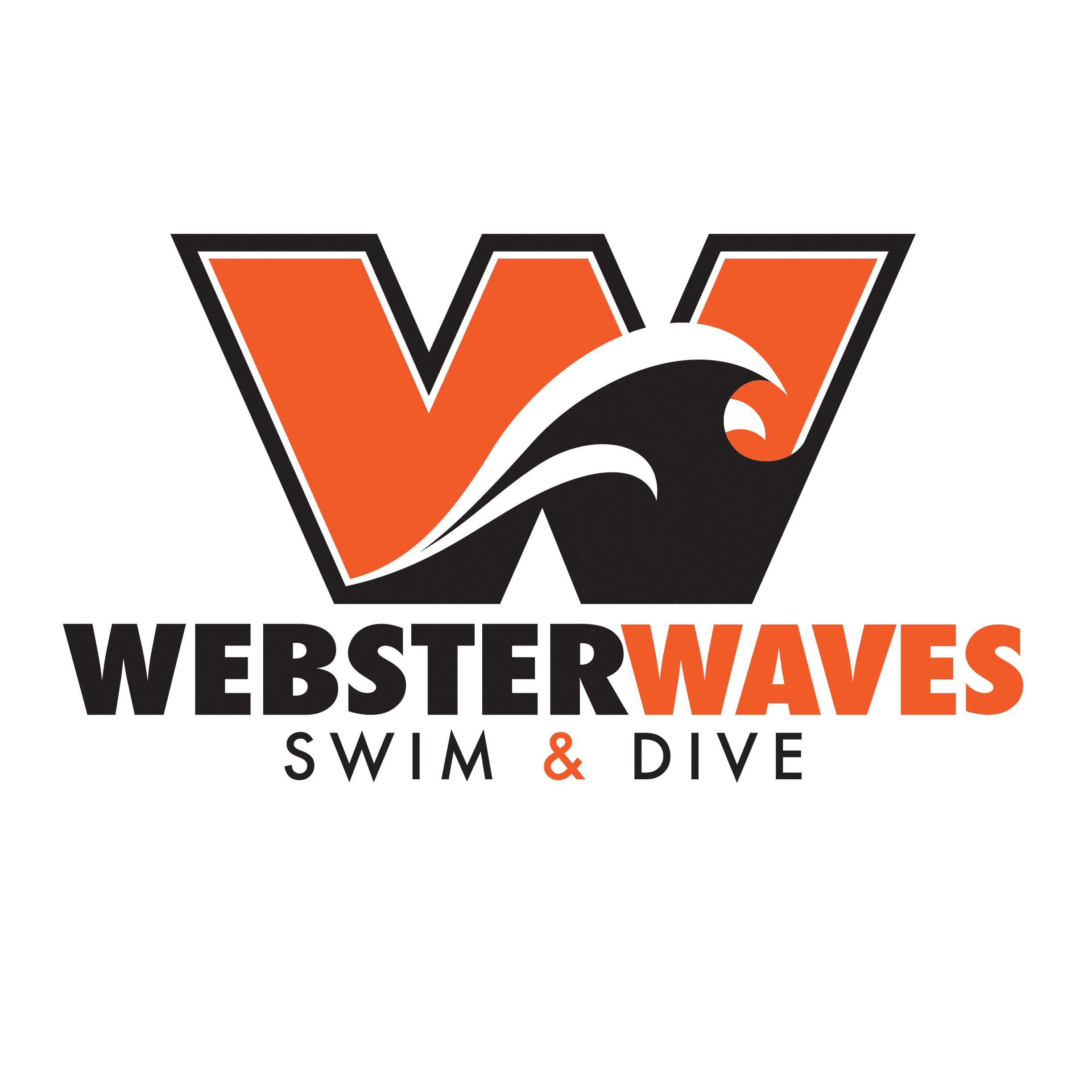 Webster Waves Logo square