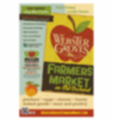 Webster Groves Farmers Market Poster