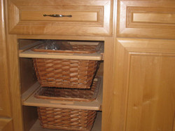 More reclaimed cabinetry