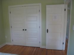 Vintage entry door...