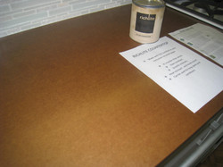 Richlite pressed paper countertop
