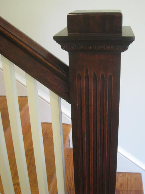 Newel posts are ubiquitous in DC