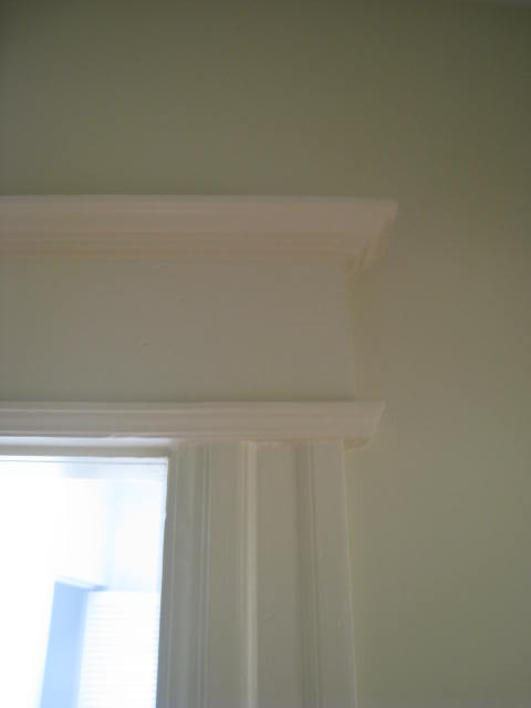 Vintage trim and capital - saved!