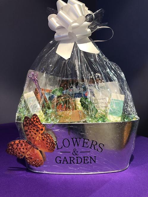 Flower & Garden Gift Basket