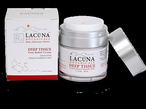 Lacuna DEEP TISSUE - CBD Infused Pain Relief Massage Cream (1000mg CBD)
