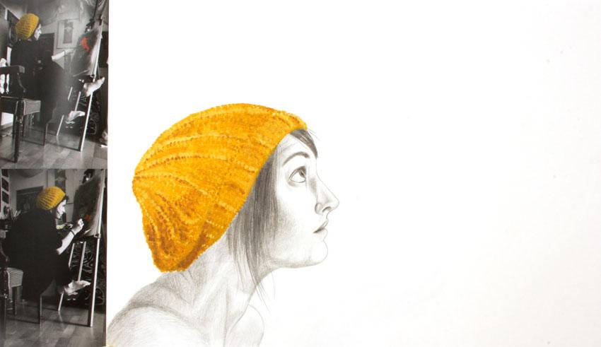 Porträt mit Mütze