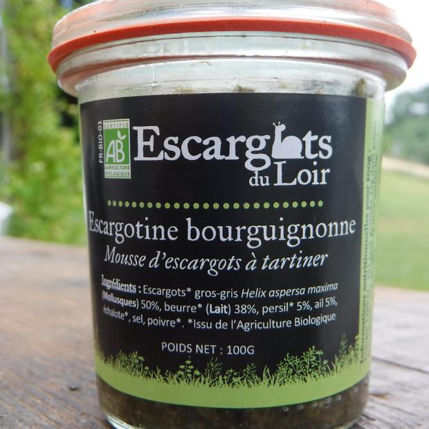 Escargotine Bourguignonne - Bocal stérilisé 100g