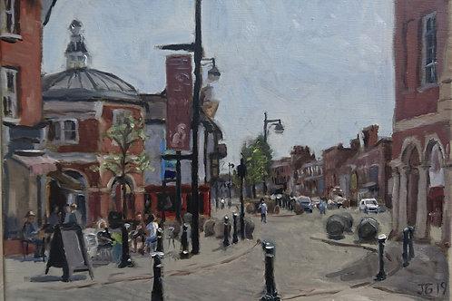 Bank Holiday High Street, High Wycombe