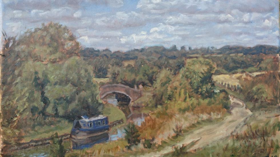Oxford canal near Upper Heyford