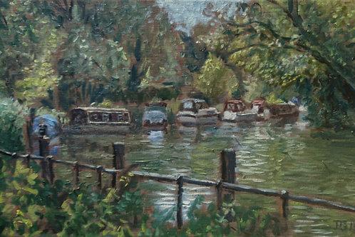 Boats at Hurley