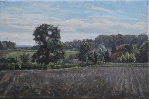 Towards Penn Bottom from Winchmore Hill