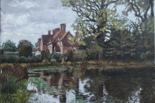 Coleshill village pond