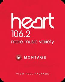 Heary 106.2 Logo iQbeats