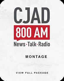 CJAD 800 am Logo iQbeats