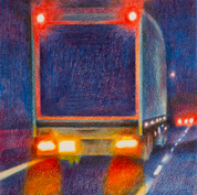 Debenhams Lorry