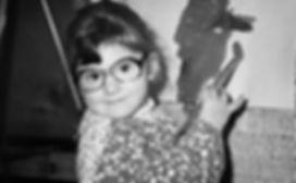 Peta Mawby as a young artist circa 1978