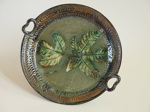 Fig Leaves Serving Plate