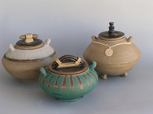 Eastern Style leaded pots.