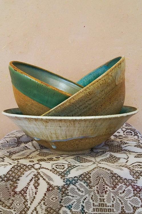 Assorted large serving bowls