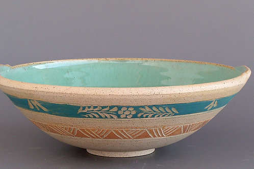 Decorated Bowl (scraffito)