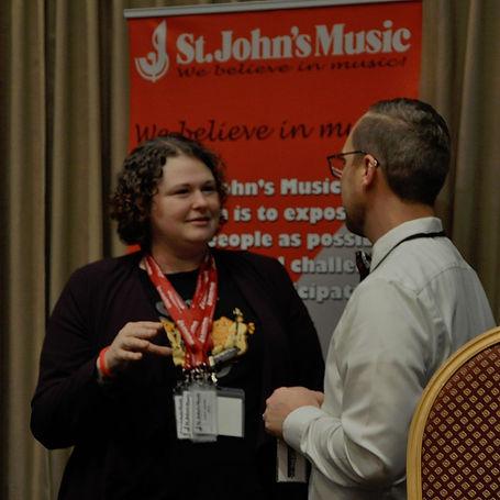 St John's Music sponsorship