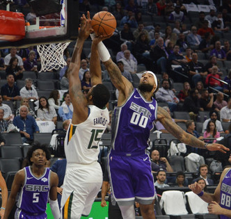 Jazz Take Down Kings 123-117 In Season Opener On The Road