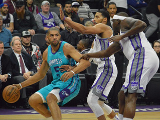 Nicolas Batum Leads 8 Hornets Players In Double Digits, Charlotte Beats Kings 131-111.