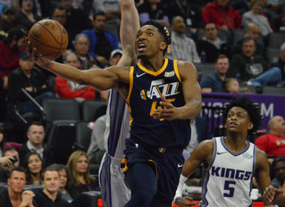 Donovan Mitchell Blurs 'Etch-A-Sketch' Kings, Scores 34 in Utah Jazz Win