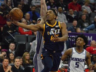 Donovan Mitchell Blurs 'Etch-A-Sketch' Kings, Scores 34 in Utah Jazz Win